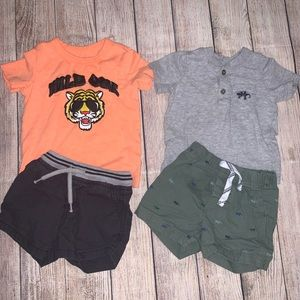 Baby Boy Summer Outfit Bundle
